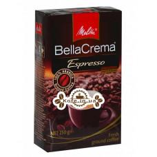 Кофе Melitta Bella Crema Espresso молотый 250 г (4002720004371)