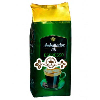Кофе Ambassador Espresso зерновой 900 г (8719325127409)