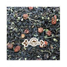 Ягода Годжі чорний ароматизований чай Чайна Країна