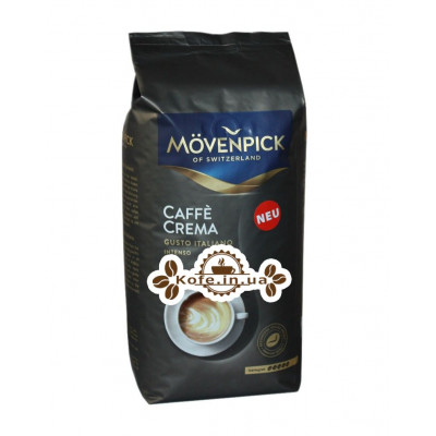 Кава Movenpick Caffe Crema Gusto Italiano зернова 1 кг (4006581017815)