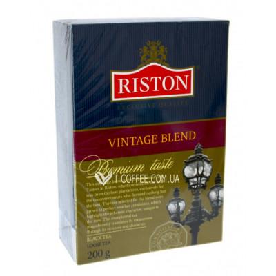 Чай Riston Vintage Blend Вінтаж Бленд 200 г к / п (4792156003276)