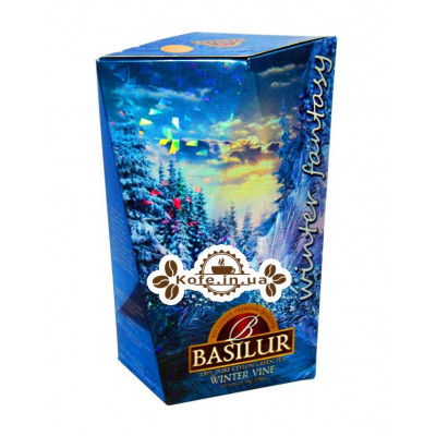 Чай BASILUR Winter Vine Зимова Лоза - Зимова Фантазія 85 г к / п (4792252932784)