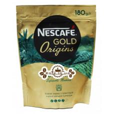 Кава NESCAFE Gold Origins Indonesia Sumatra розчинна 180 г економ. пак. (7613038806235)