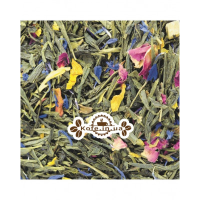 Утренний Аромат зеленый ароматизированный чай Світ чаю