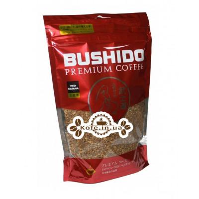 Кофе Bushido Red Katana растворимый 85 г эконом. пак.