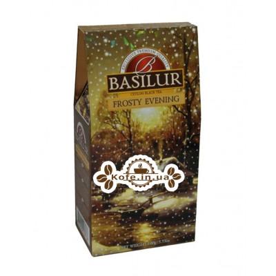 Чай BASILUR Frosty Evening Морозный Вечер - Морозная 100 г к/п (4792252928138)