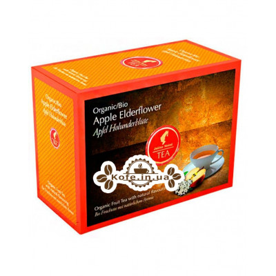 Чай Julius Meinl Bio Apple Elderflower Яблуко Квіти Бузини 20 x 4 г