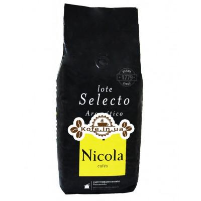 Кава Nicola Selecto Aromatico зернова 1 кг (5601132111012)