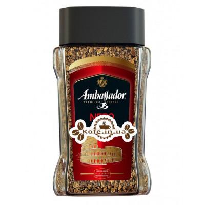 Кофе Ambassador Nero растворимый 190 г ст. б. (8719325020540)