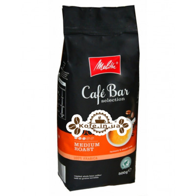 Кава Melitta Cafe Bar Selection Medium Roast зернова 500 г (4002720004487)