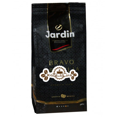Кава Jardin Gourmet Bravo Brazilia 100% Arabica зернова 250 г (4823096805047)