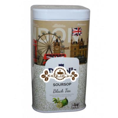 Чай Daniel's Soursop Black Tea 100 г ж / б (4796017690575)