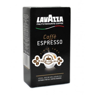Кава Lavazza Caffe Espresso мелена 250 г к / п