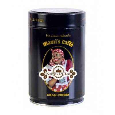 Кофе Mami's Gran Crema 250 г зерно ж\б