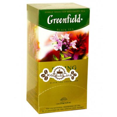 Чай Greenfield Spring Melody Весняна Мелодія 25 х 1,5 грама (4823096802220)
