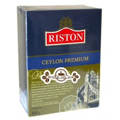 Чай Riston Ceylon Premium Цейлонский Премиальный 100 г к/п (479215601050)