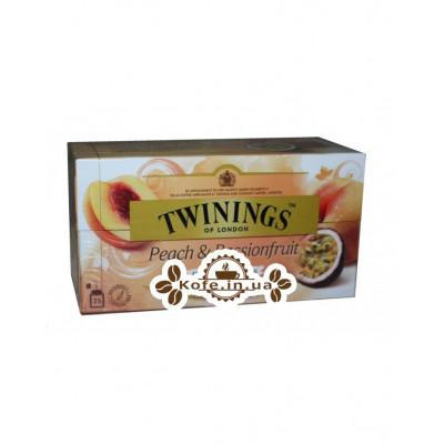 Чай TWININGS Peach Passionfruit Персик Маракуйя 25 х 2 г (070177083564)