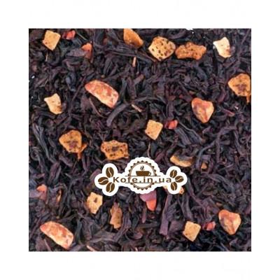 Чарівна Країна чорний ароматизований чай Країна Чаювання 100 г ф / п