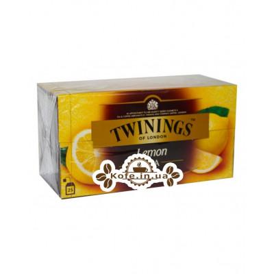 Чай TWININGS Lemon Tea Лимон 25 х 2 г (070177046088)