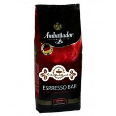 Кава Ambassador Espresso Bar зернова 1 кг Німеччина (4051146001044)