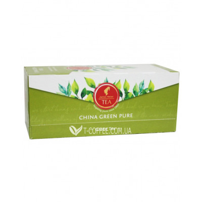 Чай Julius Meinl China Green Pure Зелений Класичний 25 х 1,75 г (9000403822804)