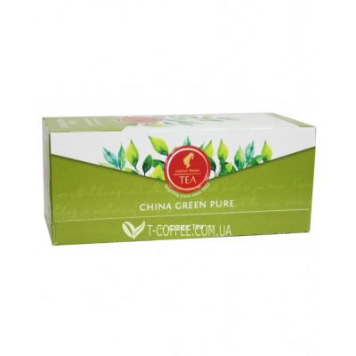 Чай Julius Meinl China Green Pure Зеленый Классический 25 х 1,75 г (9000403822804)