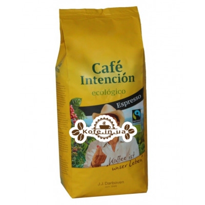 Кава JJ DARBOVEN Cafe Intencion Ecologico Espresso зернова 1 кг (4006581021058)