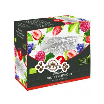 Чай Julius Meinl Bio Fruit Symphony Фруктова Симфонія 20 x 4 г (9000403832650)