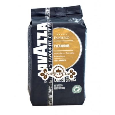 Кава Lavazza Espresso Pienaroma зернова 1 кг (8000070023017)