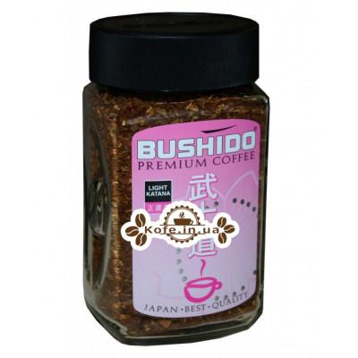 Кофе Bushido Light Katana растворимый 100 г ст. б. (7610121710325)