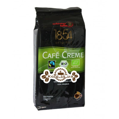 Кава Schirmer Cafe Creme Bio зернова 1 кг (4007611158171)