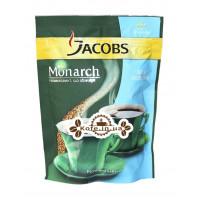 Кава Jacobs Monarch розчинна без кофеїну 65 г економ. пак.