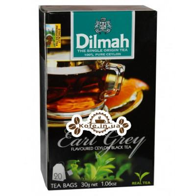Чай Dilmah Black Tea Earl Grey Ерл Грей 20 x 1,5 г (9312631142105)
