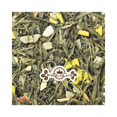 Мон Амур зелений ароматизований чай Світ чаю