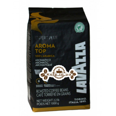Кава Lavazza Expert Plus Aroma Top 100% Arabica зернова 1 кг (8000070029620)