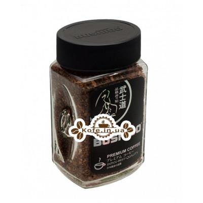 Кава Bushido Black Katana розчинна 100 г ст. б. (7610121710301)