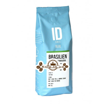 Кофе JJ DARBOVEN ID BLUE BRASILIEN зерновой 250 г