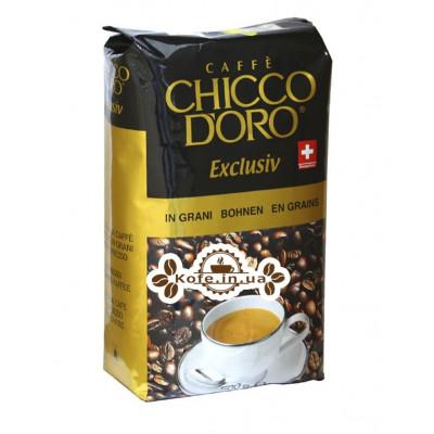 Кава Chicco d'Oro Exclusiv зернова 500 г (7610899110518)