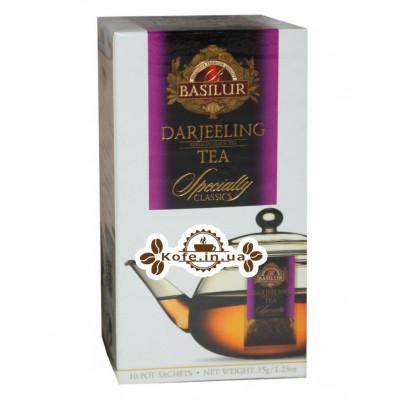 Чай BASILUR Darjeeling Дарджилінг - Обрана Класика 10 х 4 г (4792252932333)