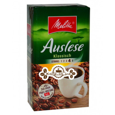 Кава Melitta Auslese Klassisch мелена 500 г (4002720002261)