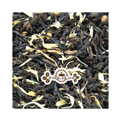 Крем Брюле чорний ароматізарованний чай Світ чаю