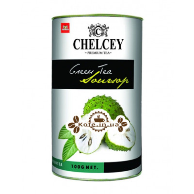 Чай CHELCEY Soursop Саусеп зеленый 100 г к/б