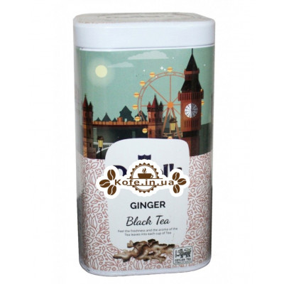 Чай Daniel's Ginger Black Tea 100 г ж / б (4796017690568)