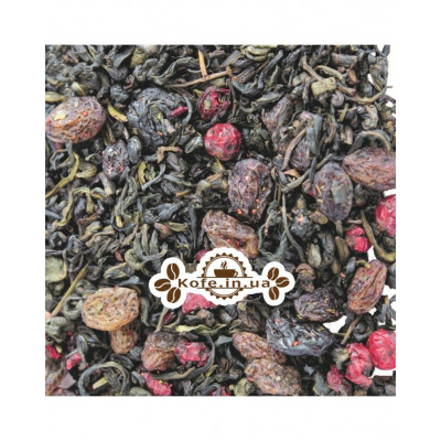Сильвия зеленый ароматизированный чай Світ чаю