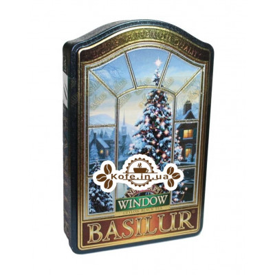 Чай BASILUR New Year's Новый Год - Окна 100 г ж/б