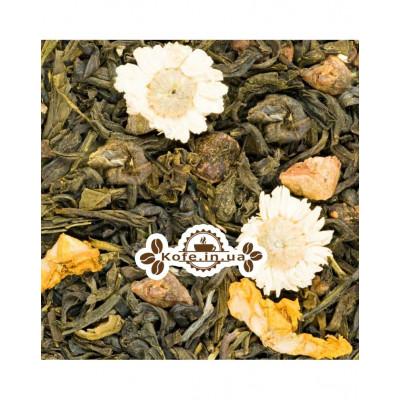 Райський Сад зелений ароматизований чай Країна Чаювання 100 г ф / п