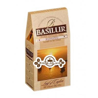 Чай BASILUR Ruhunu Рухуна - Лист Цейлону 100 г к / п (4792252100107)