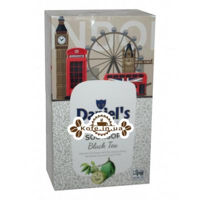 Чай Daniel's Soursop Black Tea 100 г к/п (4796017690575)