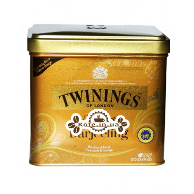 Чай TWININGS Vintage Darjeeling Вінтаж Дарджилінг 180 г ж / б (5055953902487)