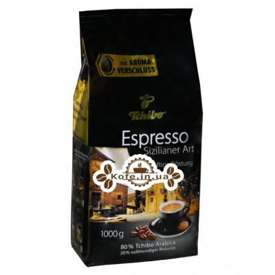 Кава Tchibo Espresso Sizilianer Art зернова 1 кг (4046234265330)
